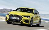 2020 Audi S3 hatchback - hero front