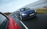 Audi TT 2014 action