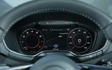 Audi TT 2014 instruments