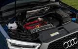 2.5-litre Audi RS Q3 Performance engine