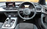 Audi A6 Avant dashboard