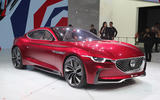 MG E-Motion EV front design