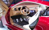 MG E-Motion EV sports car interior