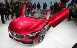 MG E-Motion EV sports car f