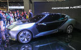Qoros Model K-EV makes public debut at Shanghai motor show