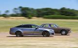 Jaguar XJ - current vs. original