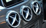 Mercedes-Benz B-Class air vents