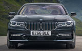 BMW 740 Le xDrive front end