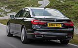BMW 740 Le xDrive rear