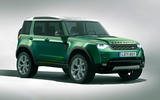 Baby Land Rover render