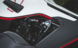 BAC Mono 2018 UK first drive review - rear suspension
