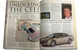 Chrysler's petrol-hydrogen fuel cell concept