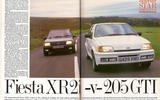Ford Fiesta XR2i vs Peugeot 205 GTI