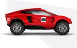 Prodrive BRX Dakar Rally prototype - side