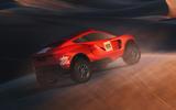 Prodrive BRX Dakar Rally prototype - rear