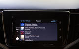 Suzuki Baleno iTunes screen