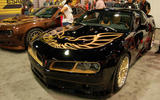 In a sea of modified Camaros, this one stands out. The Pontiac Trans Am lives on thanks to Trans Am Worldwide. Current car based on the Gen 5 Camaro will be replaced by a Gen 6-based model next year
