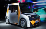 Chris Bangle's Redspace electric city car