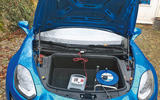 Alpine A110 battery charging