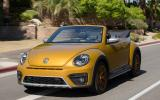 Volkswagen Beetle Dune roof down