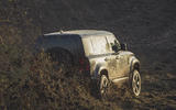 2019 Land Rover Defender on James Bond set