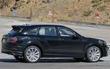 Bentley Bentayga facelift prototype spy shot - side