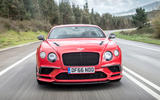 Bentley Continental Supersports head-on view