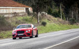 Bentley Continental Supersports driving