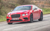 Bentley Continental Supersports front quarter view