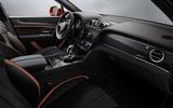 Bentley Bentayga Speed interior