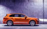 Bentley Bentayga Speed side profile