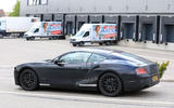 Bentley Continental GT side profile