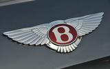 Bentley Flying Spur V8 badge
