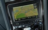 Bentley Flying Spur V8S infotainment