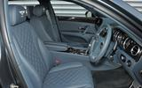 Bentley Flying Spur V8S interior