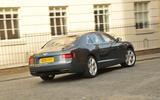 Bentley Flying Spur V8S rear cornering