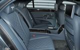 Bentley Flying Spur V8S rear seats