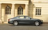 Bentley Flying Spur V8S side profile