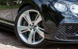 20in Bentely Continental GT Speed alloys