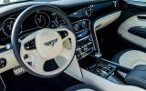 Bentley Mulsanne Speed dashboard