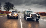 Jaguar XK120 and Bentley S2 Continental