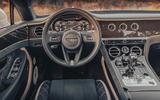 Bentley Conti GT Speed Conv dash