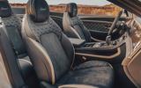 Bentley Conti GT Speed Conv seats