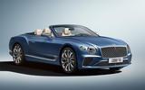 Bentley Continental GT Mulliner Convertible front three quarters