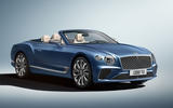 Bentley Continental GT Mulliner Convertible front three quarters