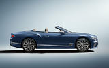 Bentley Continental GT Mulliner Convertible side profile