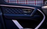 Limited-edition Bentley Bentayga plaid doorcard