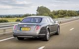 Bentley Mulsanne motorway