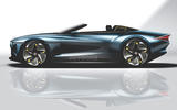 Autocar render of Bentley Mulliner roadster