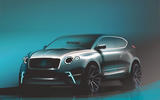 Bentley electric crossover render
